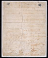 Testimonial signed by the British prisoners at Kabul, 11 March 1842, and presented to their gaoler, Meerza Bawudeen Khan