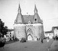 Brusselpoort in the town of Mechelen, 1944