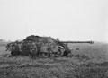 Jagdpanther tank destroyer knocked out near Gheel (Velveeken), 1944