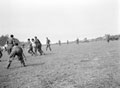 'A' Squadron playing football with the 8th Hussars, 1944 (c)