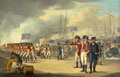 Landing of British troops on the Texel, Holland, 27 August 1799