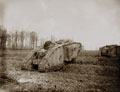 Mark II tanks, 1917