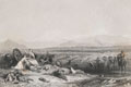 Culloden Moor, looking north across the Moray Firth, 1746