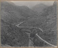 Looking north through the gorge at Ali Musjid, 1919