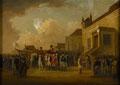 Frederick Augustus, Duke of York, reviewing troops in Flanders, 1794 (c)
