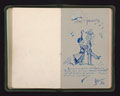 Autograph book collected by M Wheatcroft, Women's Army Auxiliary Corps, during her service in France, 1917-1918