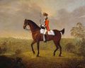 Cornet Thomas Boothby Parkyns, 15th (or the King's) Regiment of (Light) Dragoons, 1780
