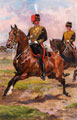 A Mounted Officer and Trooper of the Royal Horse Artillery, 1905 (c)