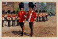 The Coldstream Guards Changing Guard at St James, 1905 (c)