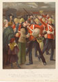 'Good Bye! The 3rd Battalion Grenadier Guards Leaving Waterloo Station, October 21st 1899'