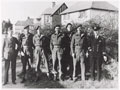 Members of No. 2 Special Boat Section at the Osborne View Hotel, used as an unofficial mess, Hillhead, Hampshire, 1943