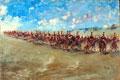 16th Lancers, advancing at a gallop, 1898