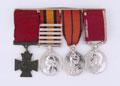 Victoria Cross medal group, Gunner Isaac Lodge, Royal Horse Artillery, 1900