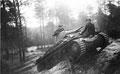 Panzer II tank during a pre-war exercise, 1938