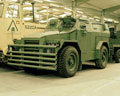 Humber 1 ton 4x4 Pig Squirt armoured truck, 1953