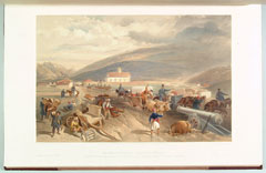 'Commissariat Difficulties. The Road from Balaklava to Sebastopol, at Kadikoi during the wet weather'