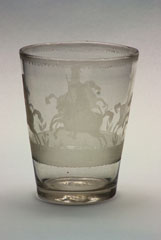 Glass beaker, 1690 (c)