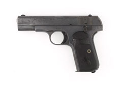 Colt .32 inch self-loading pistol, Model 1897/1903, General Sir Gerald Templer, Malaya, 1952-1954