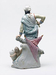 Figurine of Field Marshal Henry Seymour Conway, 1773 (c)