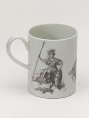 Mug commemorating the Marquess of Granby, 1765 (c)
