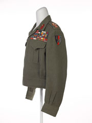 Field Marshal's battle dress blouse, Indian Army Staff, 1946 (c)