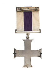 Military Cross awarded to Major Oliver 'Stewpot' Stewart, Royal Flying Corps, 1917