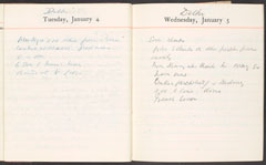 Diary for 1916 by Lieutenant-Colonel Francis Maxwell VC, DSO