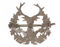 Cap badge, other ranks, The Gordon Highlanders, 1913 (c)