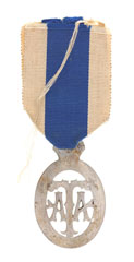 Royal Army Temperance Association Medal, nine years of abstinence, Sergeant J Phillips, 27th Battery, Royal Artillery, 1902 (c)