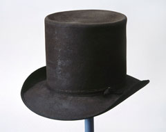 Round hat worn by Lieutenant-General Sir Thomas Picton, 1813 (c)