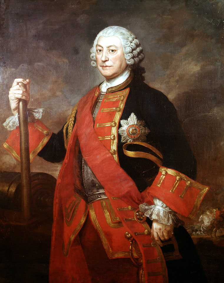 General Jean (or John) Louis Ligonier (1680-1770), Colonel of the Royal Regiment of Horse Guards, 1754 (c)