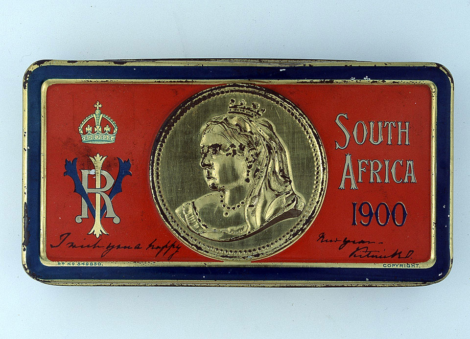 Queen Victoria gift chocolate box, 1900