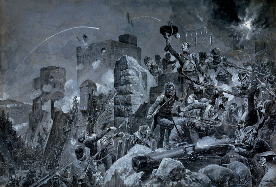 'The Devil's Own', Siege of Badajoz, 1812