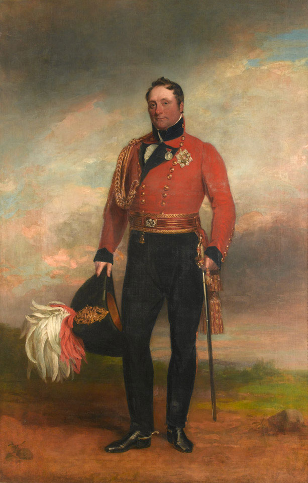 Lieutenant-General Rowland Lord Hill, 1819