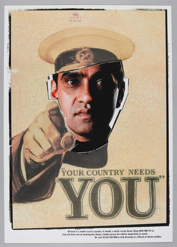 'Your Country Needs You', recruiting poster, 1998 (c)