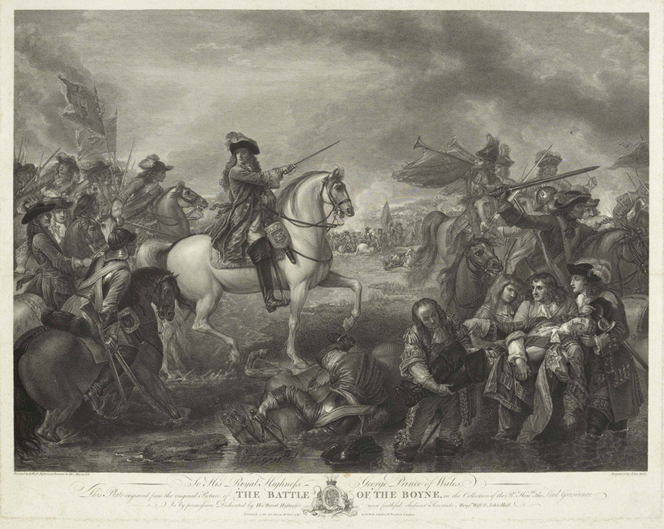 Battle of the Boyne, 1690