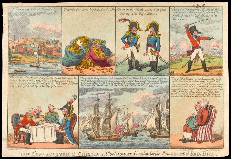 'The Convention of Cintra, a Portuguese Gambol for the Amusement of John Bull, 1809'