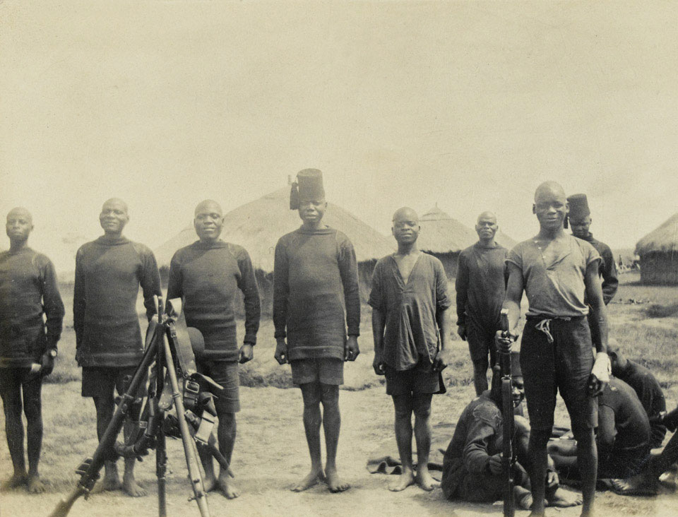 Men of the King's African Rifles, 1916 (c)