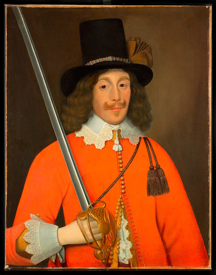 Portrait, traditionally said to be of Colonel John Hutchinson, 1643 (c)