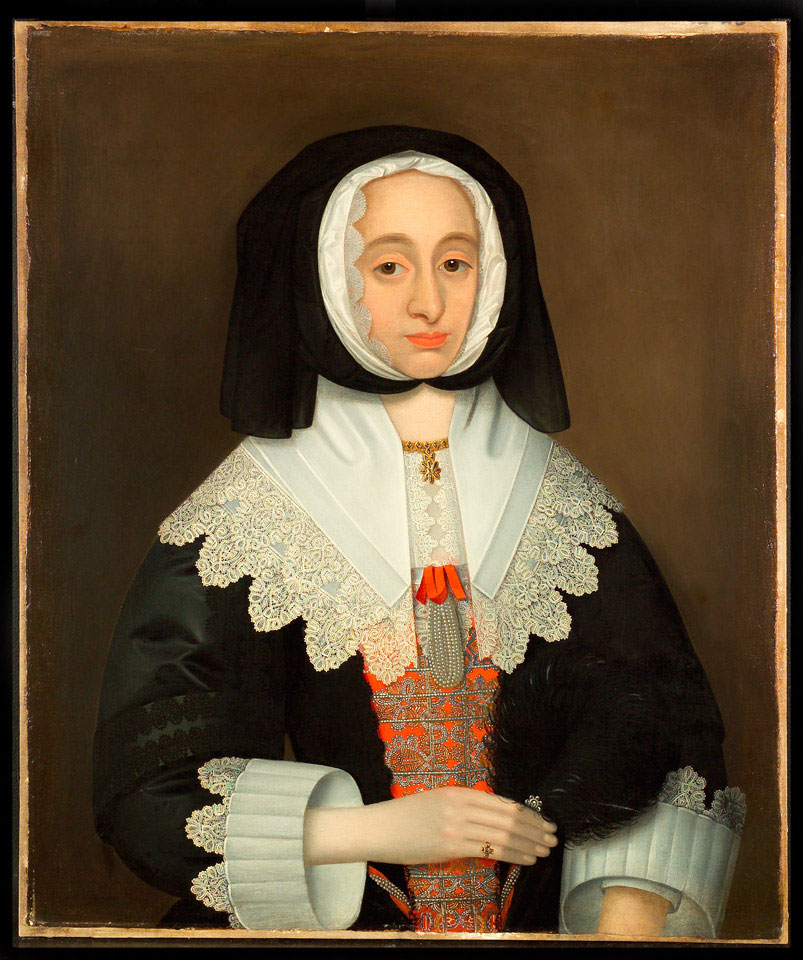 Portrait, traditionally said to be of Mrs Lucy Hutchinson, 1643 (c)