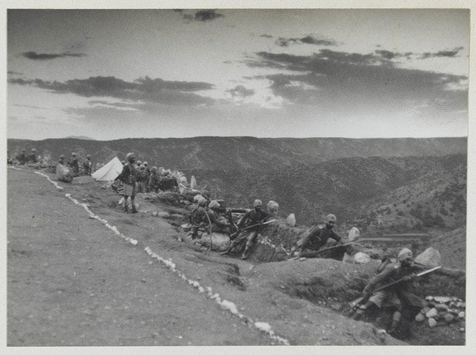 Stand to, Asman Valley, 1937 (c)