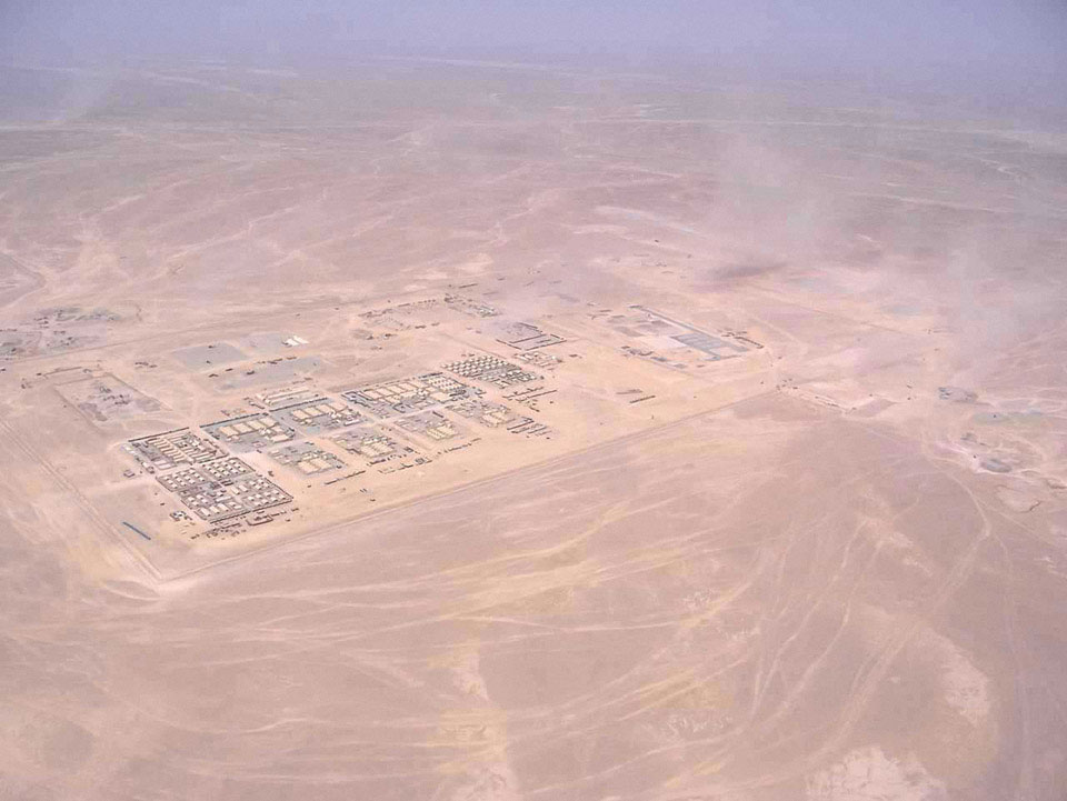 A British base in Helmand Province, 2006
