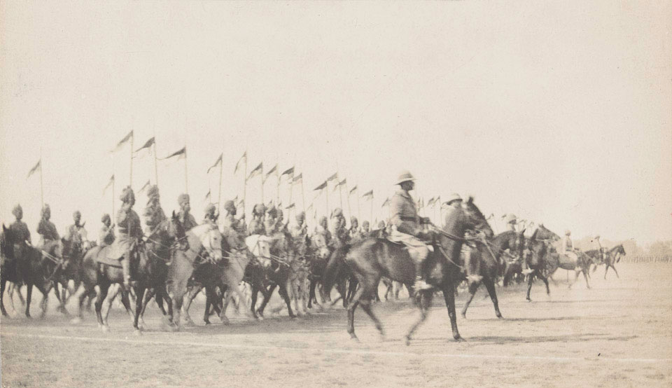 Armistice Day Parade, India, 1918