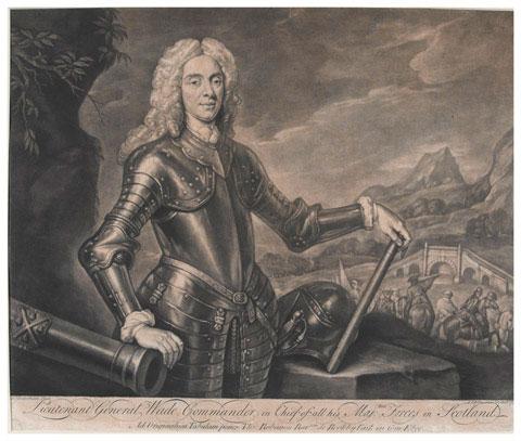 Lieutenant General George Wade, Commander in Chief of all his Majesties Forces in Scotland, 1736