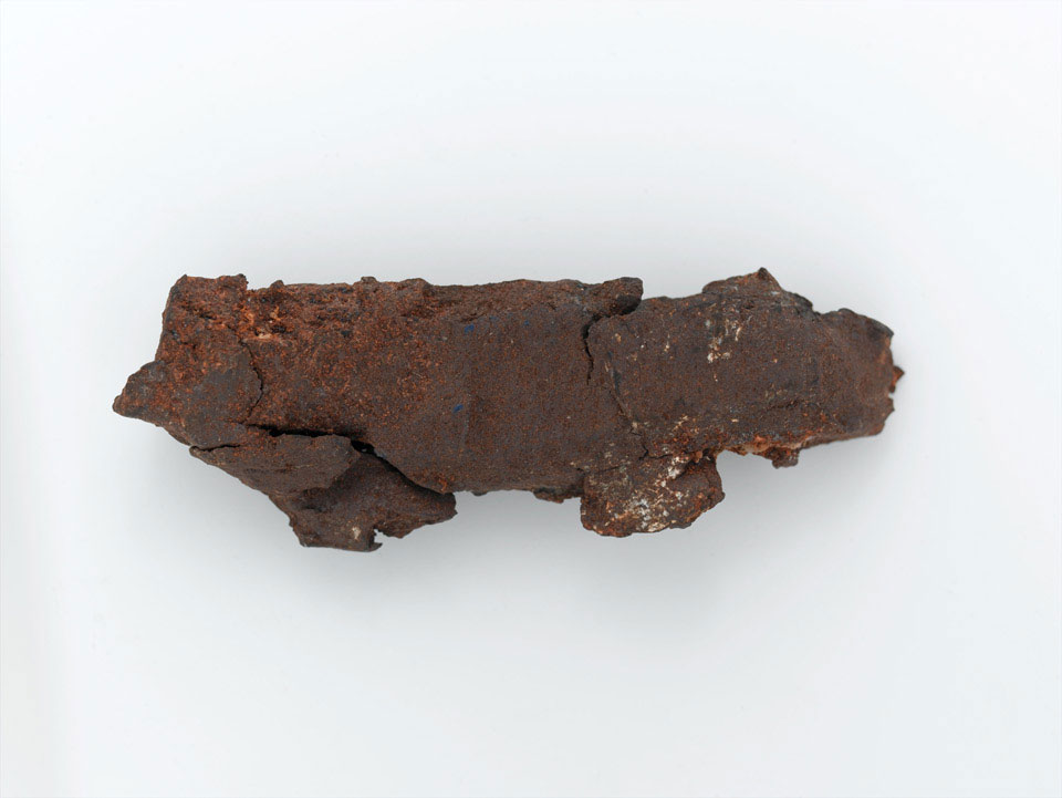 Fragment of shrapnel from a 107 mm rocket, 2006