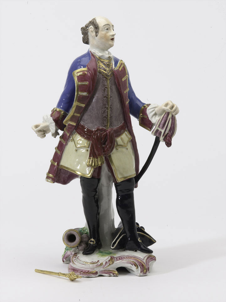 Figurine of General John Manners, Marquess of Granby, 1760 (c)