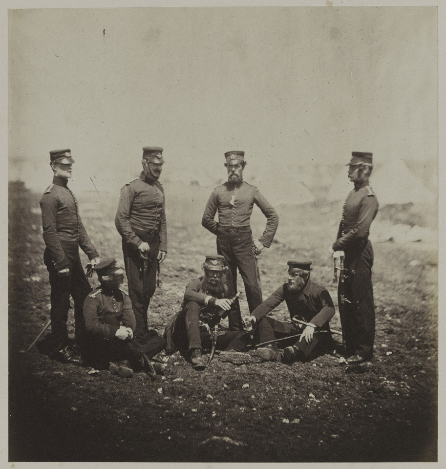 Officers of the 68th Light Infantry, Crimea, 1855