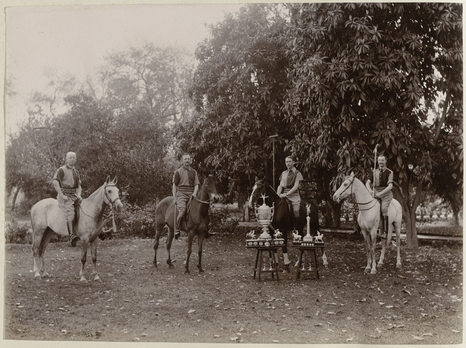 The Queen's Own Corps of Guides polo team, 1905 (c)