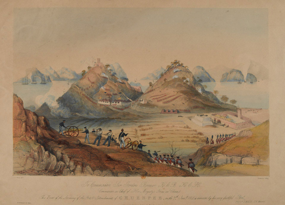 'Storming of the forts and entrenchments of Chuepee [sic] on 7th January 1841'