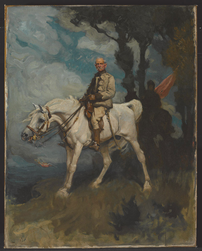 General Sir Frederick Sleigh Roberts, on his horse Vonolel, 1894